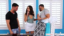 lana rhoades threesome cheats and fucks 2 guys