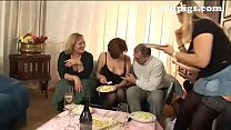 orgy for a group of mature sluts